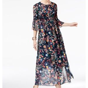 Brand new with tags floral maxi dress